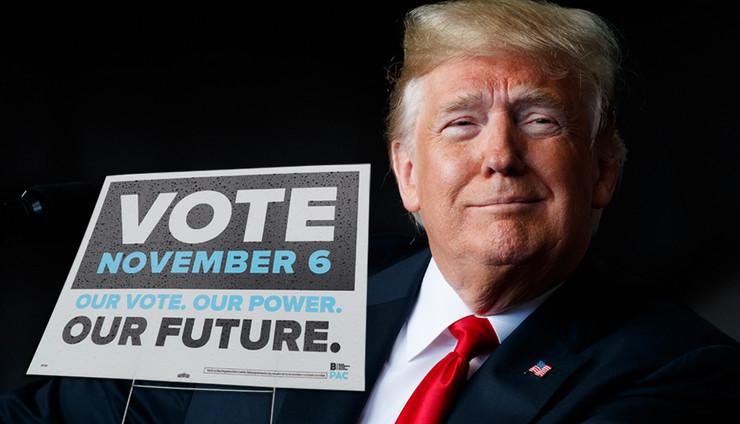 Donald Tramp, izbori