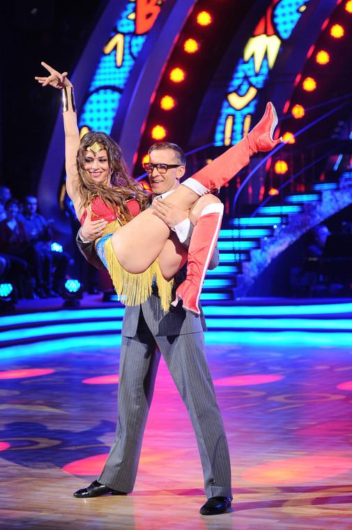 """Claudia Halleggio y Thomas Baransky W """"Bailando con las estrellas"""""""