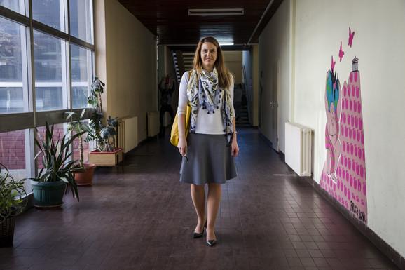 Entuzijastična profesorica nemačkog jezika Dragana Možek