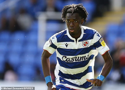 Ovie Ejaria now plays at Reading on loan from Liverpool (Michael Zamanek/BPI/REX)