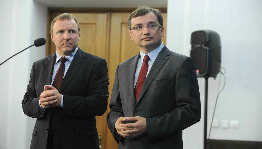 Jacek Kurski i Zbigniew Ziobro