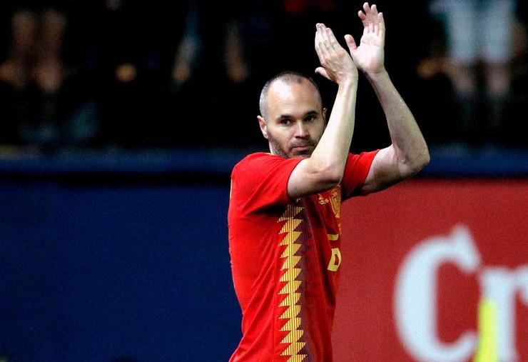 Andres Inijesta fudbalska reprezentacija Španije