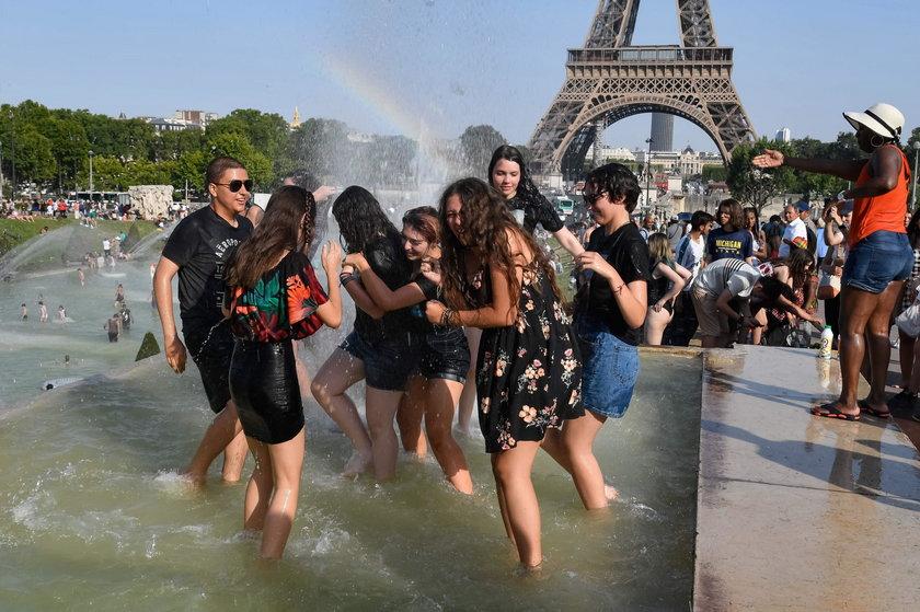 To jest już piekło! Słońce pali we Francji, w Belgii i w Niemczech