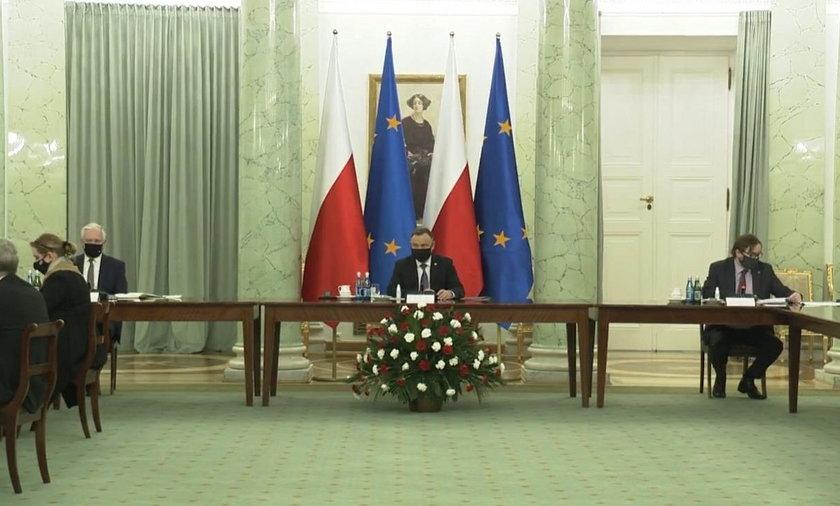 Prezydent Duda spotkał się z przedsiębiorcami