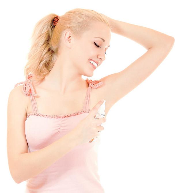 Mesta koja se na telu znoje morate održavati čistim svaki dan