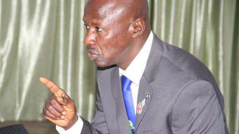 Ibrahim Magu is acting Chairman of Nigeria's anti-graft agency, EFCC (The Nation)