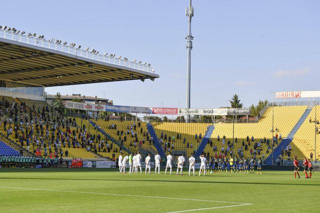 Publika na tribinama pred meč Parma - Napoli