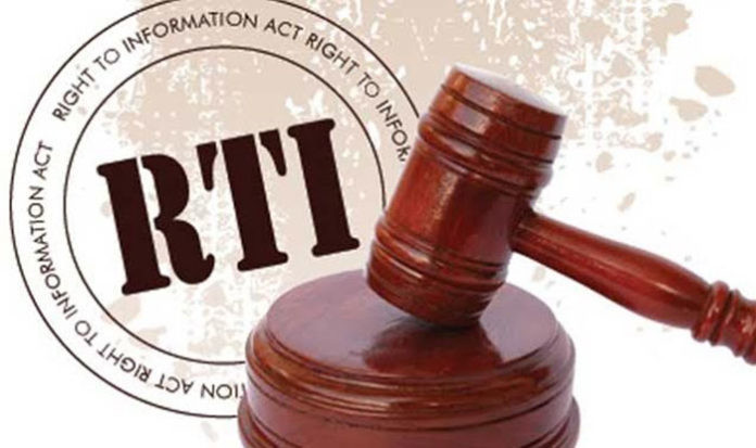 Right to Information (RTI) bill