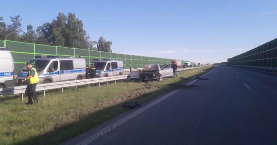 Śmiertelny wypadek na A1. Poszukiwani zgłosili się na policję