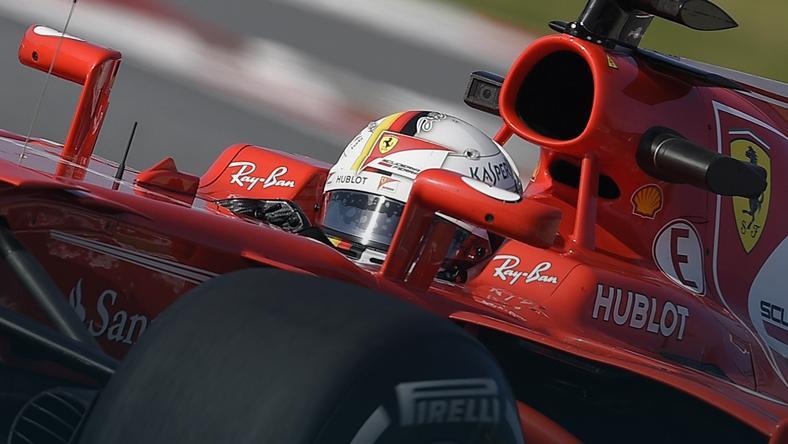 Sebastian Vettel: jesteśmy trochę za Mecedesem