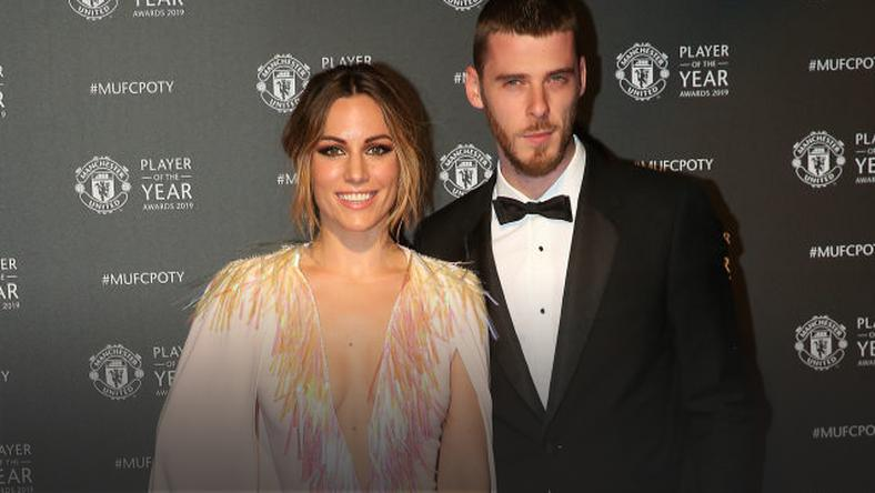 David de Gea z partnerką