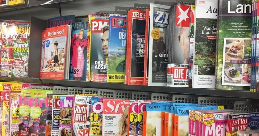 Na niemieckim rynku prasy jest ponad 20 magazynów piszących o psychologii