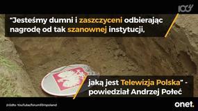 "Producenci ""Wołynia"" odebrali nagrodę od prezesa TVP"