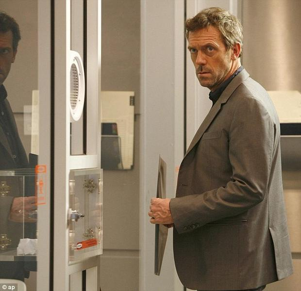 Hugh Laurie jako dr House