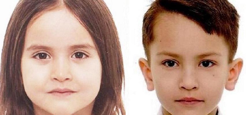 Tajemnicze zaginięcie w Warszawie. Szukają 8-letniego Mikołaja i 6-letniej Olivii. Apel o pomoc