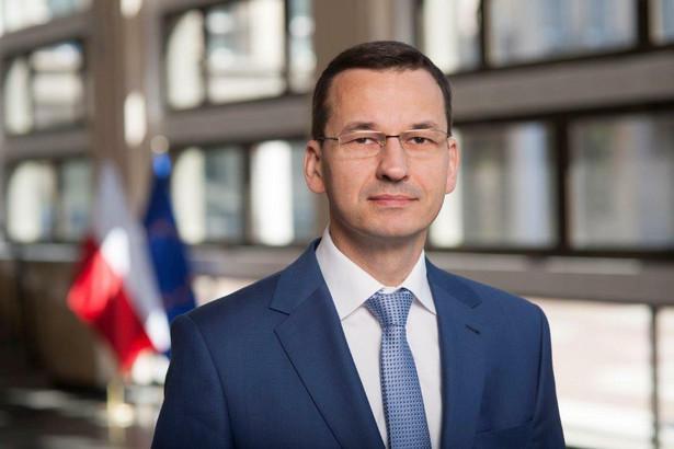 Mateusz Morawiecki - mat. prasowy MF