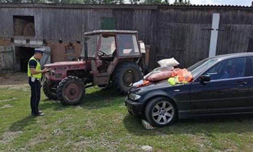 Dramat w Andrzejewie. Samochód przygniótł Monikę