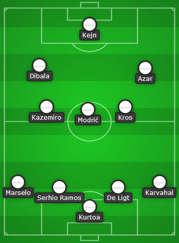 Novi Real Madrid bi igrao u ovoj formaciji i ovakvom sastavu