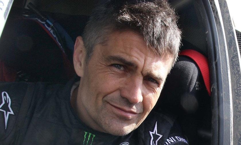 Krzysztof Hołowczyc uwielbia seks w samochodzie