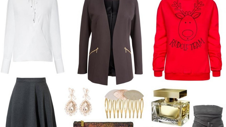 Bluzka- Hera Moda Studio/hera.com.pl, marynarka- Bialcon/bialcon.pl, bluza- MOSQUITO/mosquito.pl, spódnica- LeMONADA/lemonada.eu, buty- Caprice/caprice.pl, torebka- Antbag by Ania/antbags.pl, perfumy- Dolce&Gabbana, wsuwki- Tkmaxx/tkmaxx.pl, kolczyki- Tkmaxx/tkmaxx.pl, ozdoba do włosów- Tkmaxx/tkmaxx.pl.
