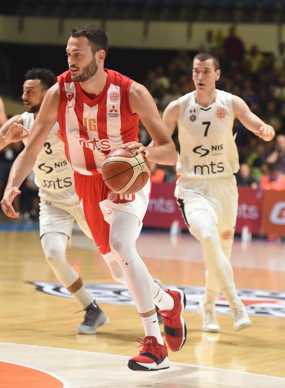 Stefan Janković na jednom od večitih derbija u minuloj sezoni