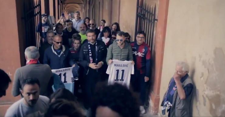 Navijači Lacija i Bolonje zajedno u Katedrali