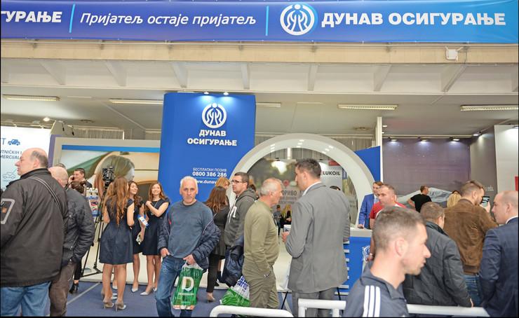 Dunav osiguranje - štand Kompanije na Salonu automobila