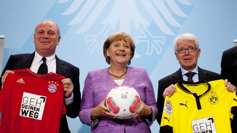 Merkel zachęca gejów wśród piłkarzy do ujawniania swojej orientacji seksualnej