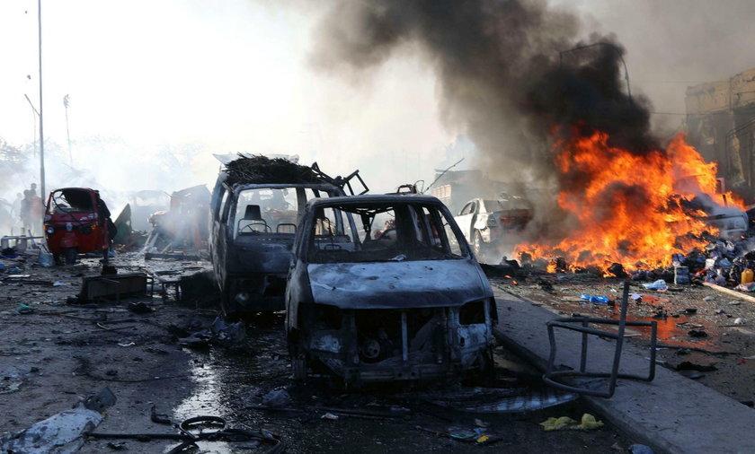 W Mogadiszu zginęło co najmniej 276 osób