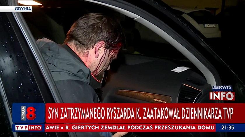 Syn znanego biznesmena nie odpowie za pobicie reportera TVP.