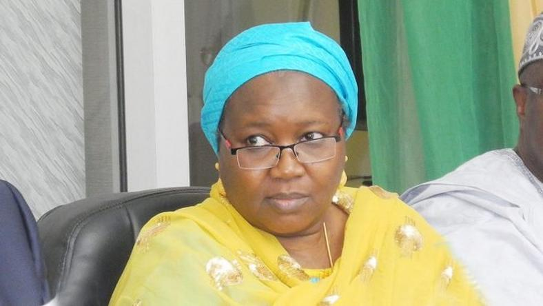 Amina Zakari, the newly appointed head of the Independent National Electoral Commission (INEC) collation centre committee