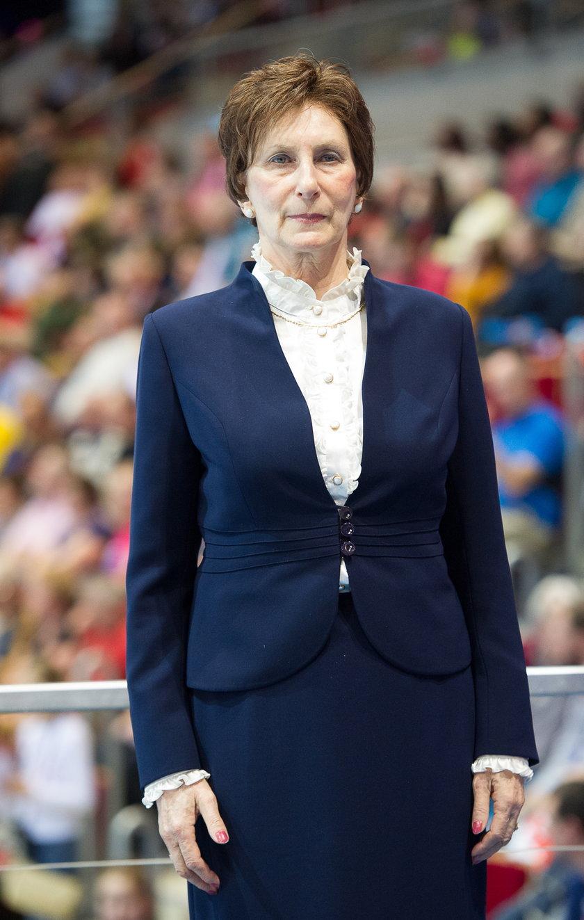 Irena Szewińska wraca do sił po chemii