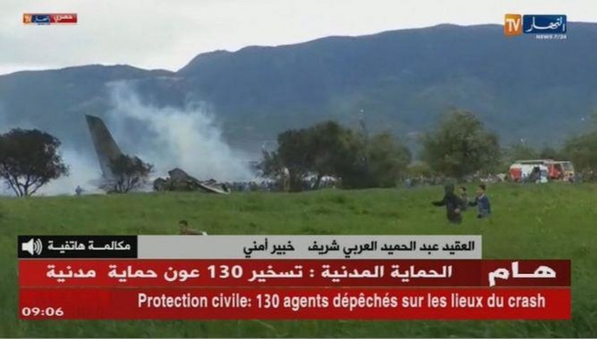 Katastrofa lotnicza w Agierii. Wiele ofiar