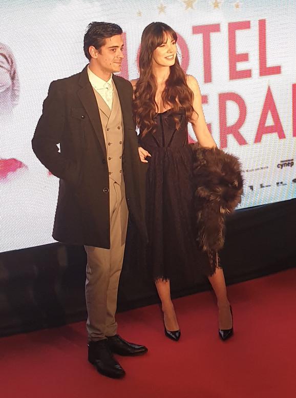 Teodora Bjelica na premijeri filma