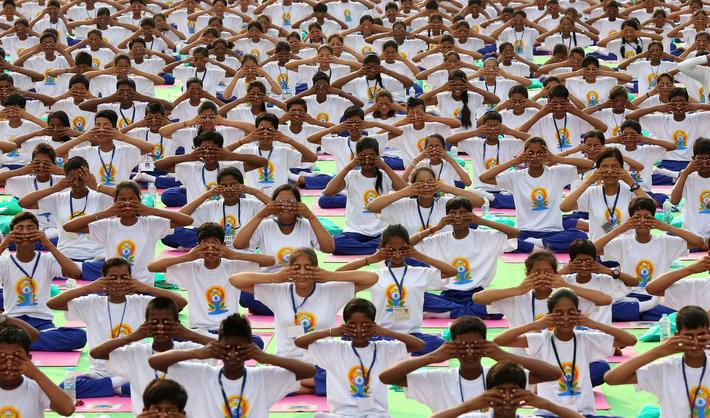 INDIA INTERNATIONAL YOGA DAY