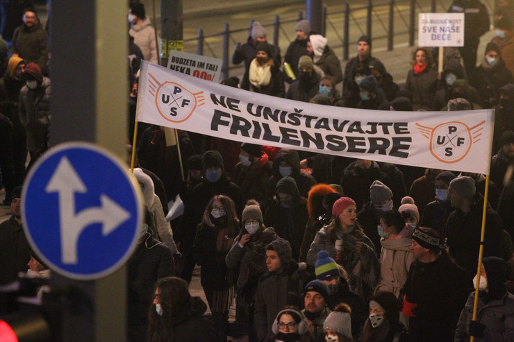 Protest frilenseri