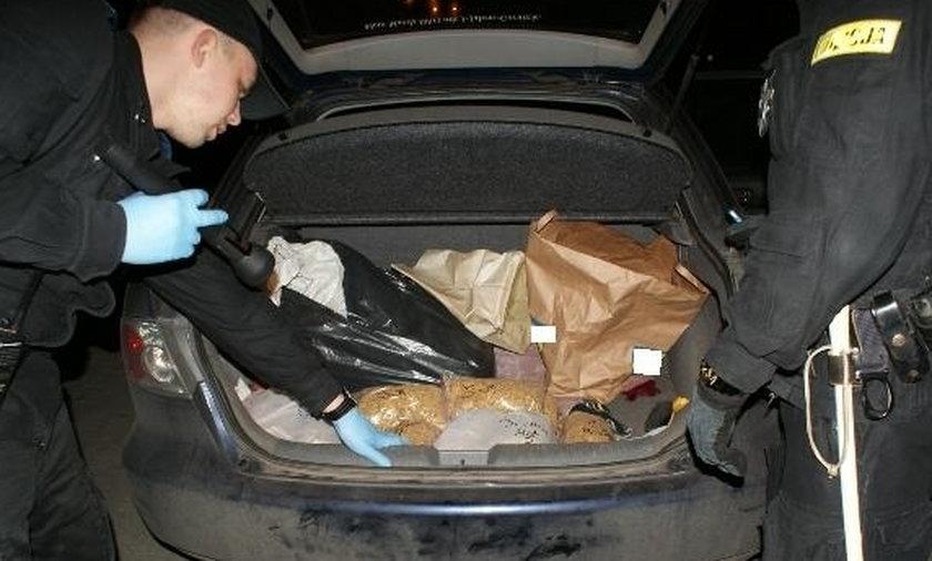 Policjanci zarekwirowali 113 kg lewego tytoniu