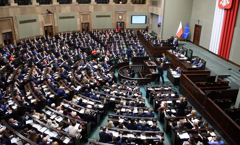 Sejm zagłosował za planem
