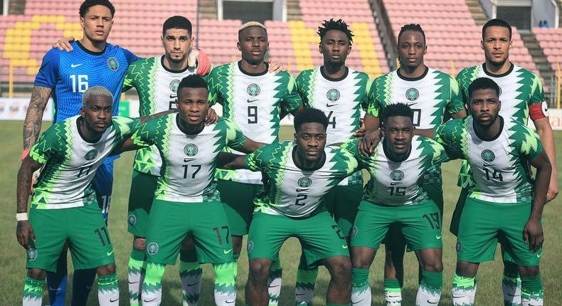 Super Eagles of Nigeria (Instagram/Super Eagles)