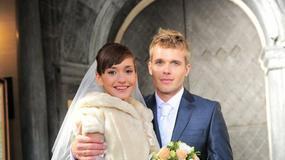 Majka i Michał na ślubnym kobiercu