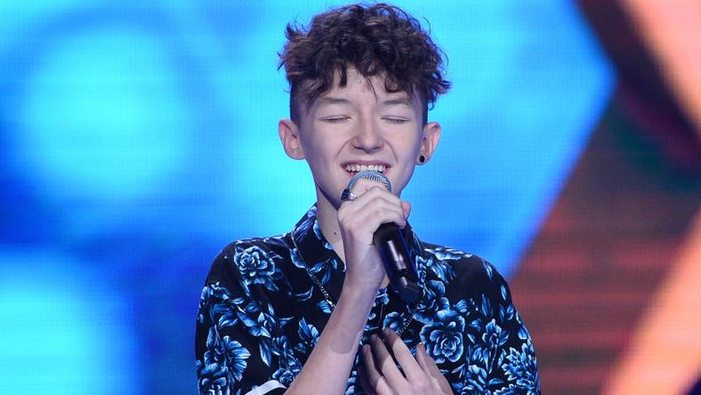 "Marcin Maciejczak w ""The Voice Kids 3"""