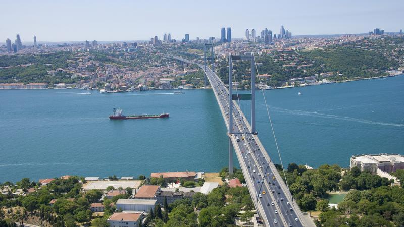 Turcja - opłaty za autostrady i most nad Bosforem