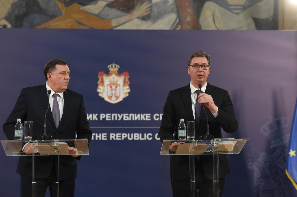 Vučić: Srbija daje pet miliona evra pomoći Republici Srpskoj