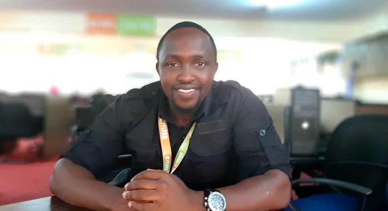 Hassan Mugambi of Citizen TV (Instagram)