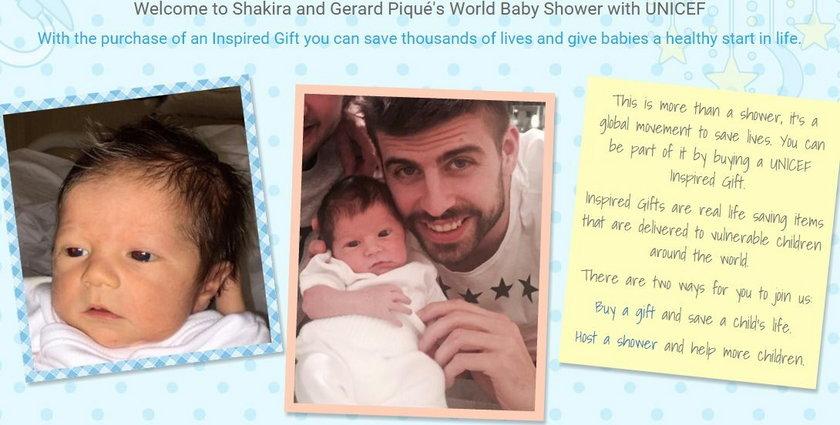 Pique pokazał synka! Podobny do Gerarda czy do Shakiry?