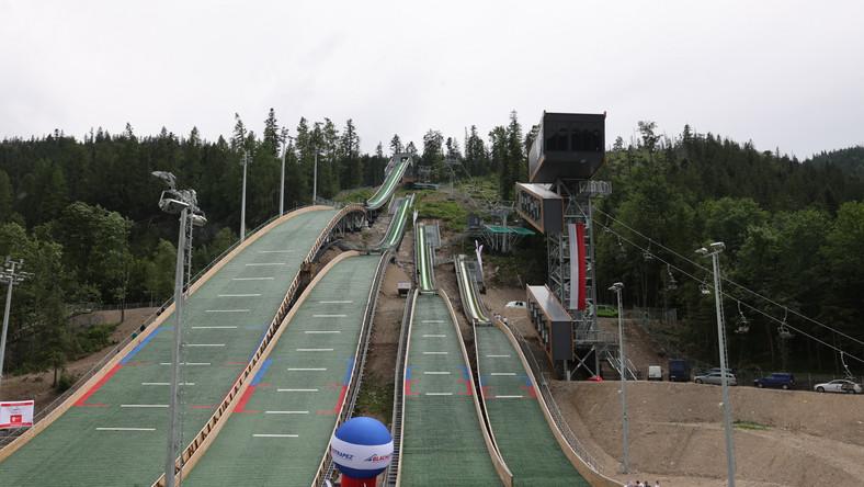 Zmodernizowany kompleks skoczni narciarskich Średniej Krokwi