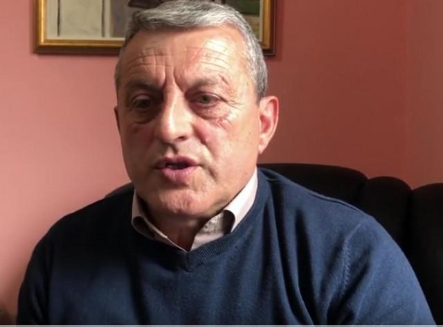 Miloš Dimitrijević, predsednih Privremenog organa opštine Peć