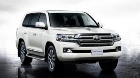 Toyota Land Cruiser - zdjęcia terenówki po liftingu
