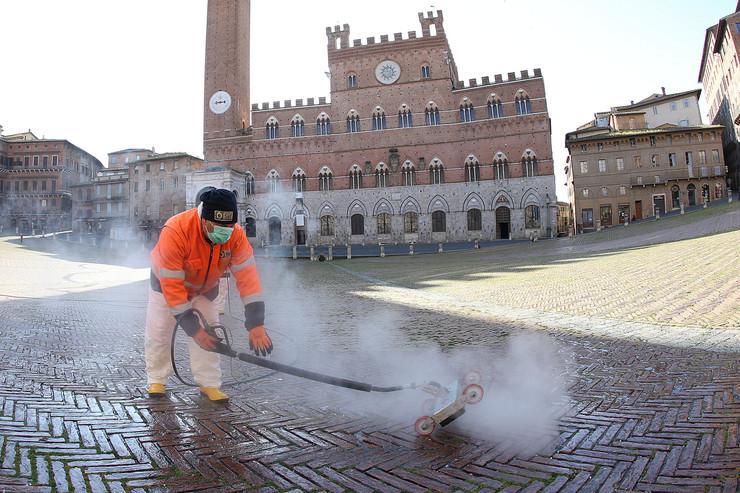 Italija dezinfekcija
