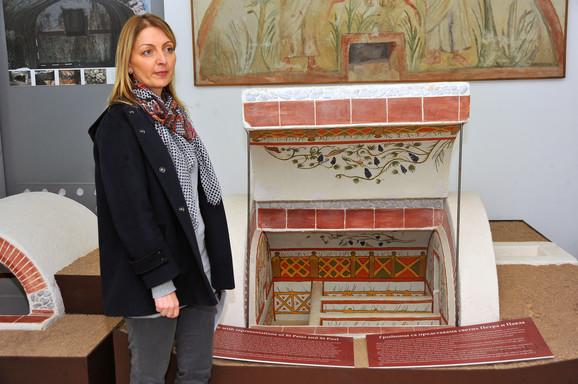 Arheolog Vesna Crnoglavac